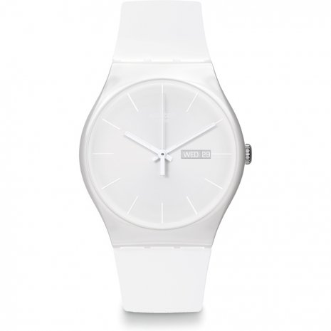 Swatch White Rebel relógio