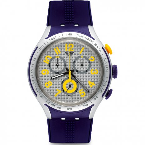 Swatch Yellow Pusher relógio