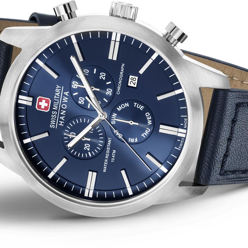 4d2b5b6fef7 Swiss Military Hanowa Chrono Classic relógio. Swiss Military Hanowa relógio  2017