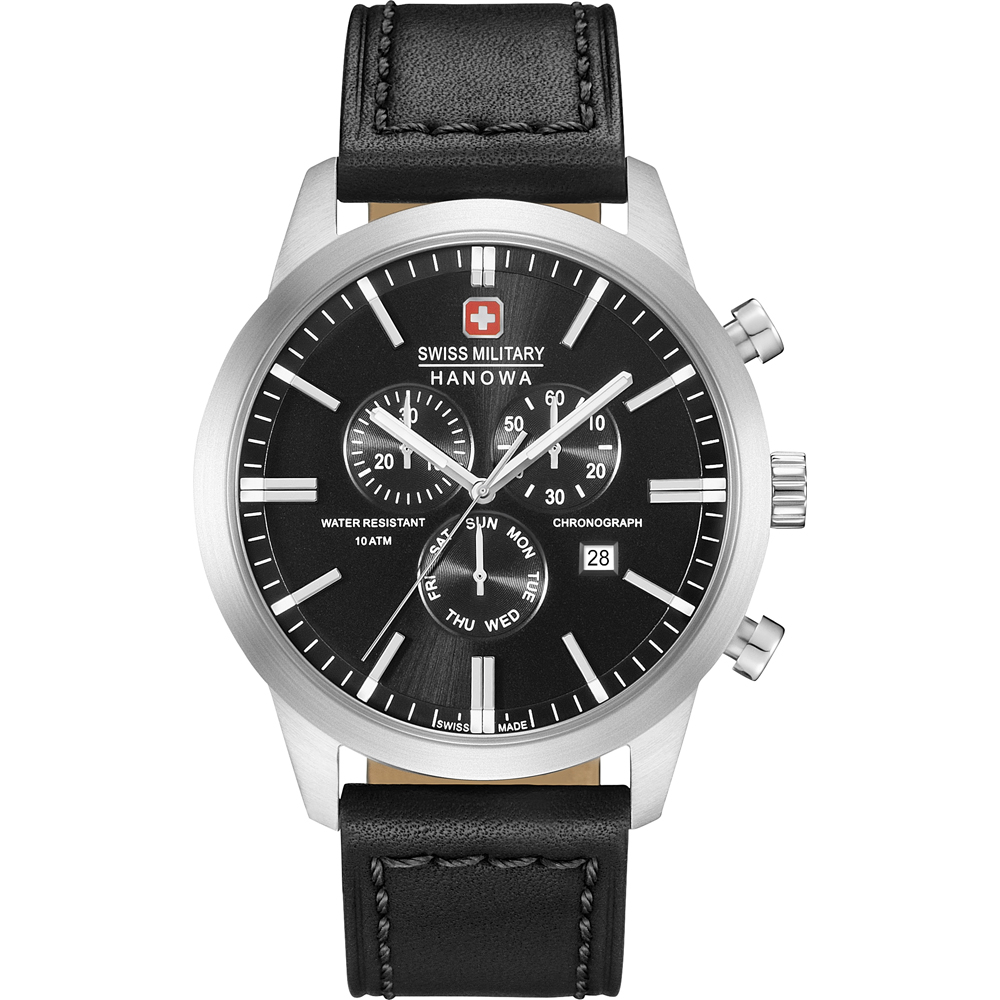 942e758b750 Relógio Swiss Military Hanowa 06-4308.04.007 Chrono Classic • EAN ...