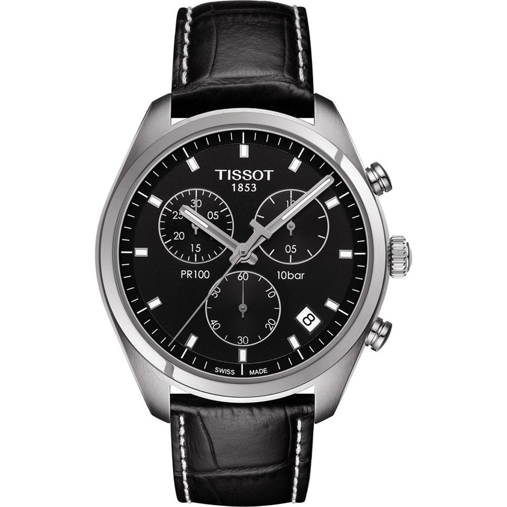 9cf4c08d7f6 Relógio Tissot T-Classic T1014171605100 PR100 Chronograph • EAN ...