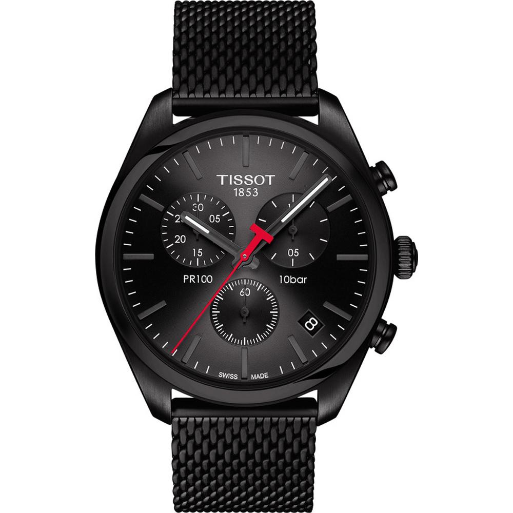 2980d957879 Relógio Tissot T-Classic T1014173305100 PR100 Chronograph • EAN ...