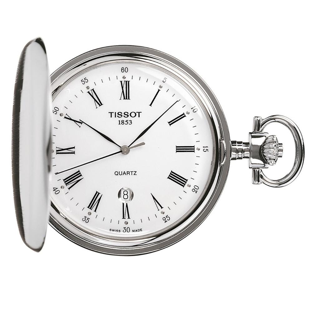 0c1108de557 Relógio Tissot T-Classic T83655313 Savonette • EAN  7611608186633 ...