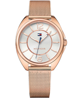 1781697 Charlee 38.30mm Relógio Mulher Ouro Rosa com Bracelete Milanese