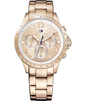 1781642 Dani 38mm Rose gold ladies watch with day-date
