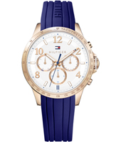 1781645 Dani 38mm Rose gold ladies watch with day-date