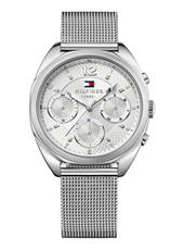 TH1781628 Mia 37.50mm Silver ladies watch with Milanese bracelet