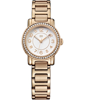 th1781476 Rose  28mm Rose Gold Ladies watch with Crystals