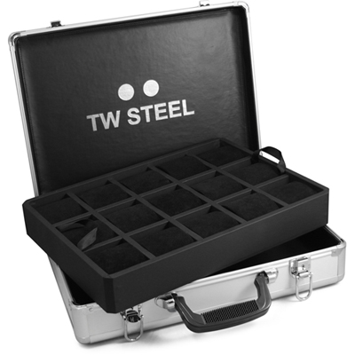 TW Steel Aluminum Display Case Caixa de Relógios