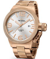 CB166 Canteen bracelet 50mm XXL Rose Gold Automatic Watch
