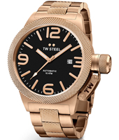 CB176 Canteen bracelet 50mm XXL Rose Gold Automatic Watch