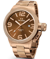 CB196 Canteen bracelet 50mm XXL Rose Gold Automatic Watch