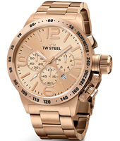 CB233 Canteen bracelet 45mm XL Rose Gold Gents Chronograph