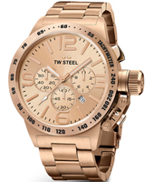 CB234 Canteen bracelet 50mm XXL Rose Gold Gents Chronograph