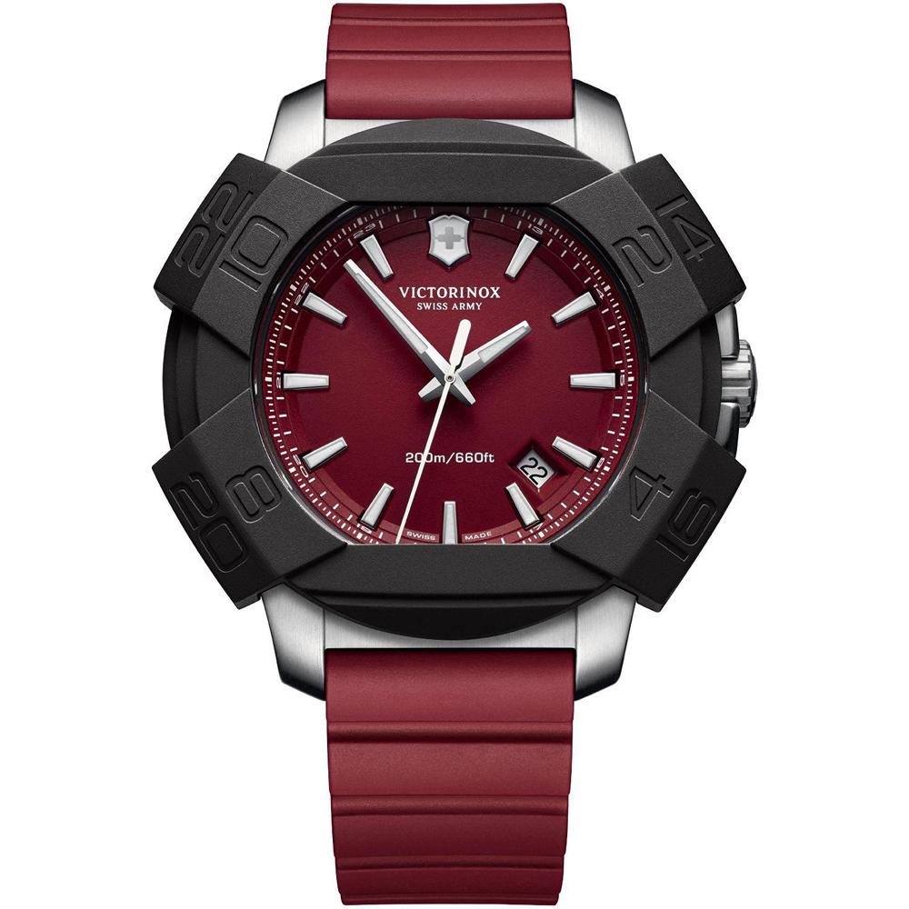 ecbc061afbe Red Extremely Shock and Force Resistant Watch Colecção Outono Inverno Victorinox  Swiss Army