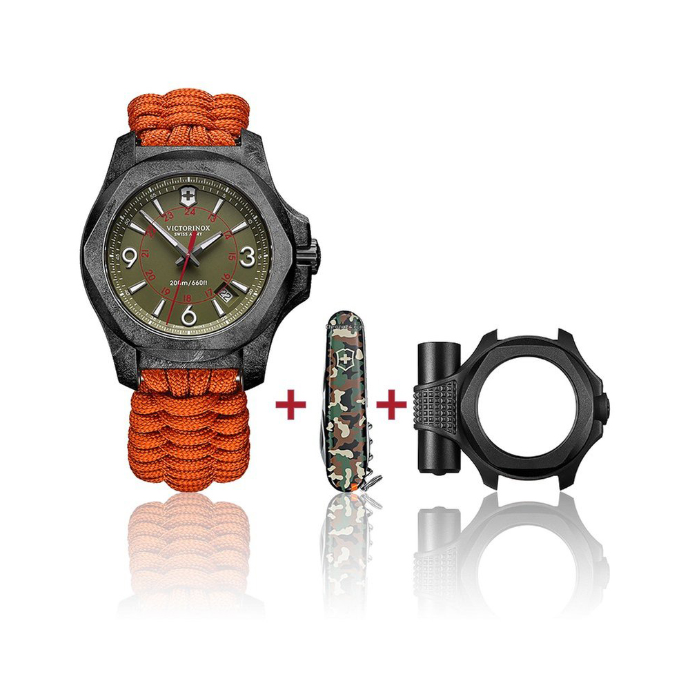 33283d429c3 Relógio Victorinox Swiss Army I.n.o.x. 241800.1 INOX Carbon Limited ...