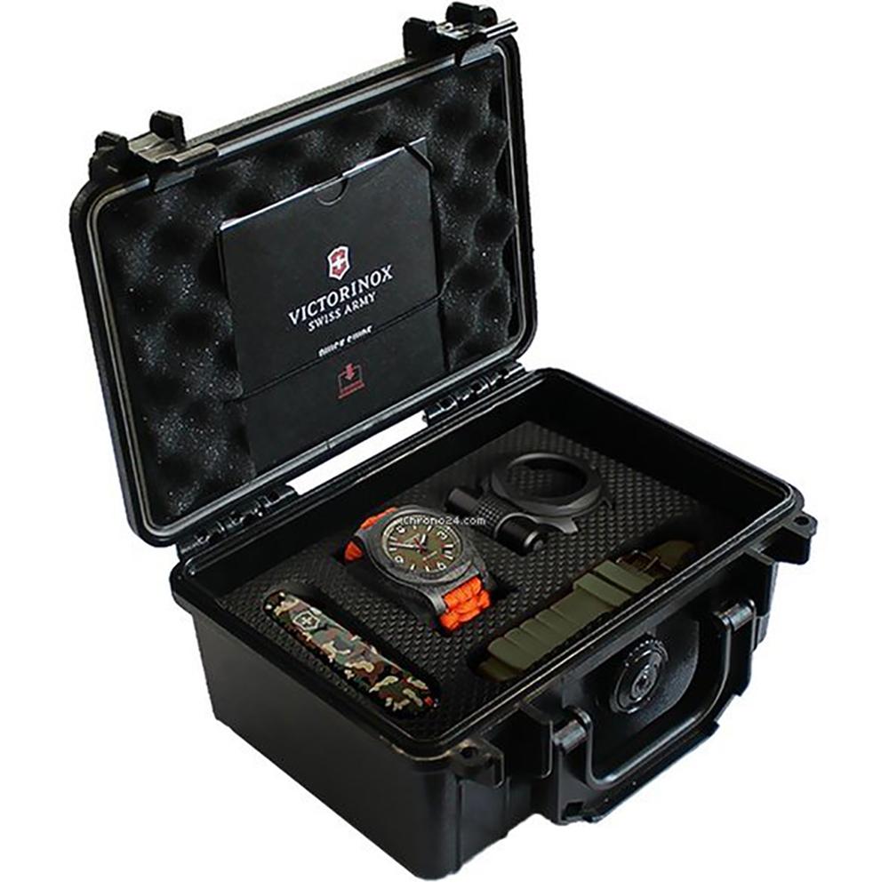 178ab82f5fb Relógio Victorinox Swiss Army I.n.o.x. 241800.1 INOX Carbon Limited Edition  1200 Pcs