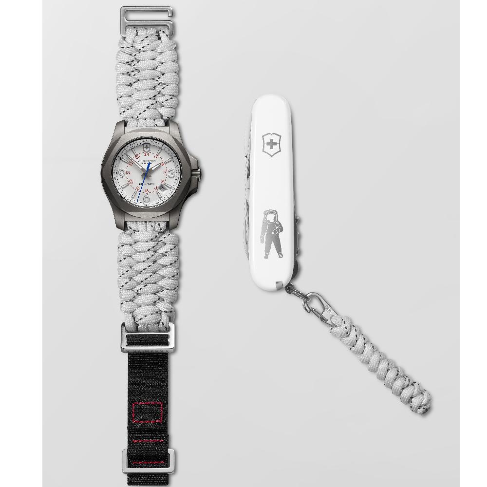 0eb6571c38c Relógio Victorinox Swiss Army I.n.o.x. 241772 INOX Titanium Naimakka ...