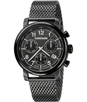 01.1043.108 Urban Classic 43mm Swiss Quartz Chronograph with DayDate